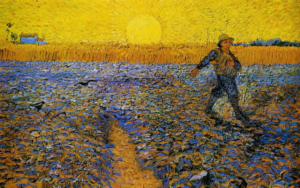 De Zaaier Van Gogh-1800pix