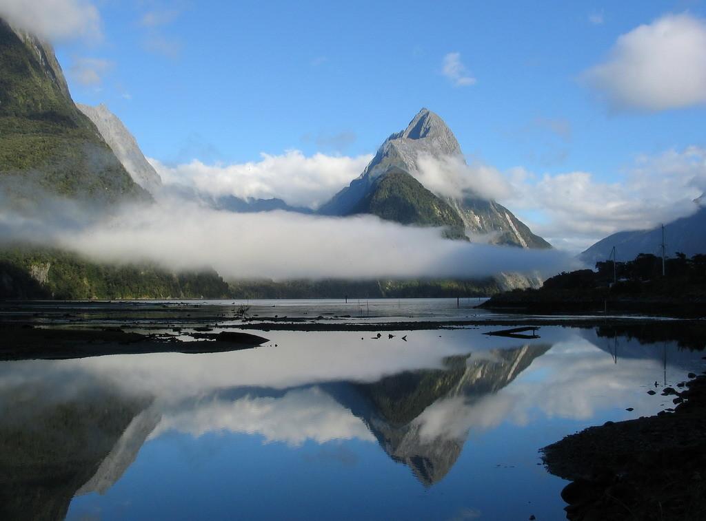 NZ-Zuideiland, Milford Sound 1 - foto HB