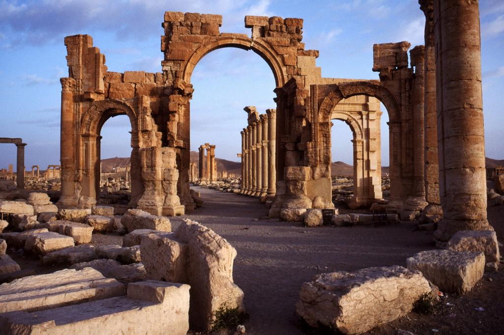Palmyra Triomfboog Foto Henk Butink_1700pix