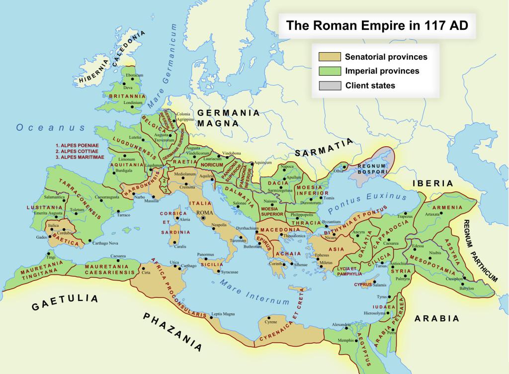 Romeins Rijk 117 nCr