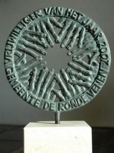 y Beeld Vrijwilliger vh jaar-Edwin Merks-de kunstenaar vh Monument