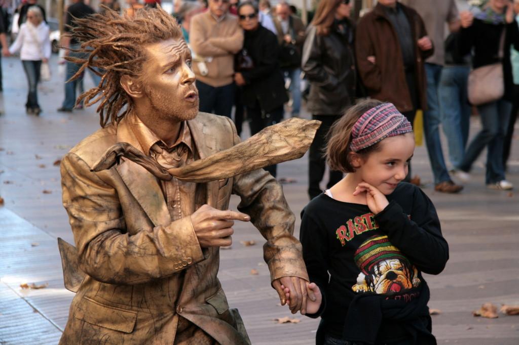 Ramblas Menselijke beelden 7731-e-1700pix Foto Henk Butink