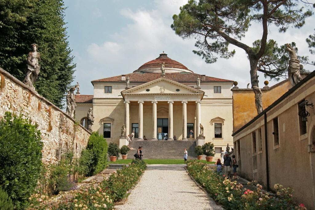 2011 Villa Rotonda bij Vicenza 601e- foto © Henk Butink 10x15cm
