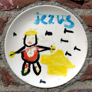 45 Keramische elementen-Norman Trapman-detail Jezus