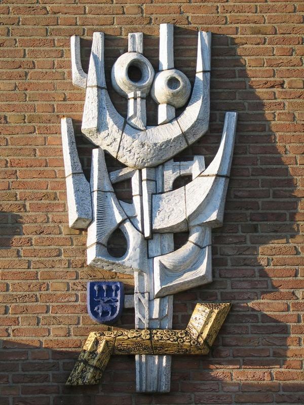 Geveldecoratie voorm Rabobank-Antoon Heijn-1
