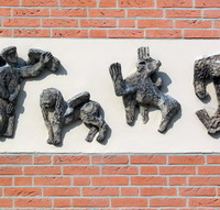 Gevelsteen Evangelisten-kunstenaar onbekend-200x200