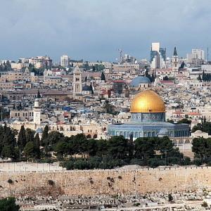 Jeruzalem panorama vanaf Olijfberg- foto Henk Butink 200x200