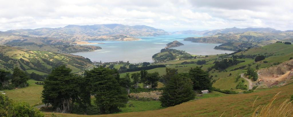 NZ-Zuideiland, Akarora meer - foto HB