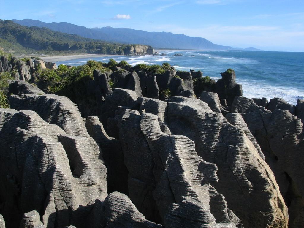 NZ-Zuideiland, Pancake Rocks - foto HB