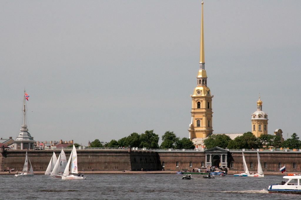 St Petersburg - Petrus en Paulusvesting- foto ©2008 Henk Butink