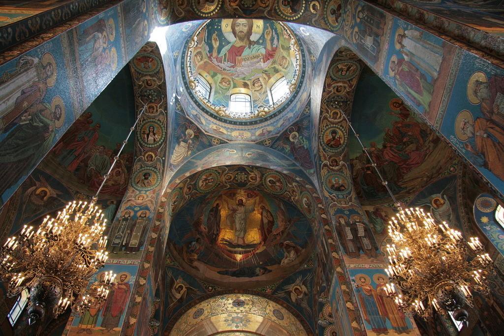 St Petersburg - Verlosserskerk op het bloed- foto ©2008 Henk Butink