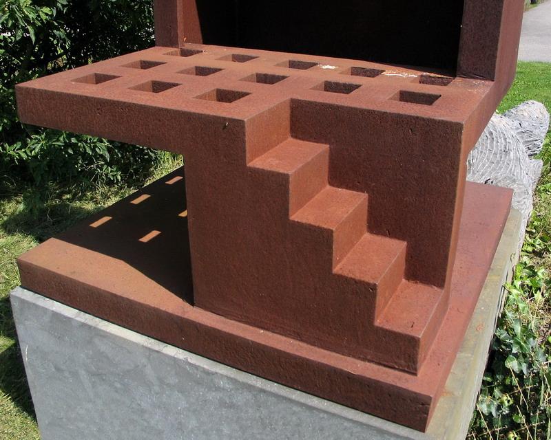 Twee elementen-6 Pjotr Müller-Abri detail trap 2