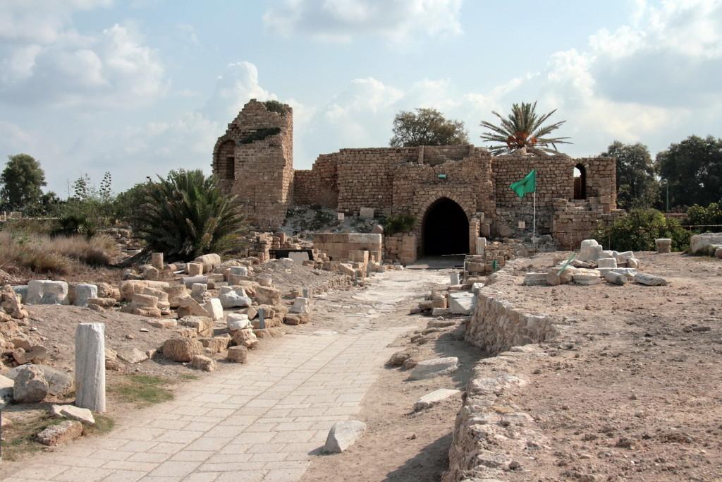 01011-Caesarea-4733b-e hoofdpoort stadzijde-1500pix