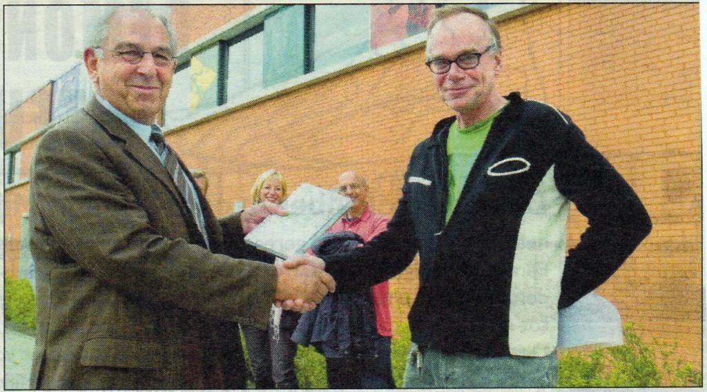2009-09-25 Wedijveren voor de Goden onthulling met hr Nolte foto Jaap Maars