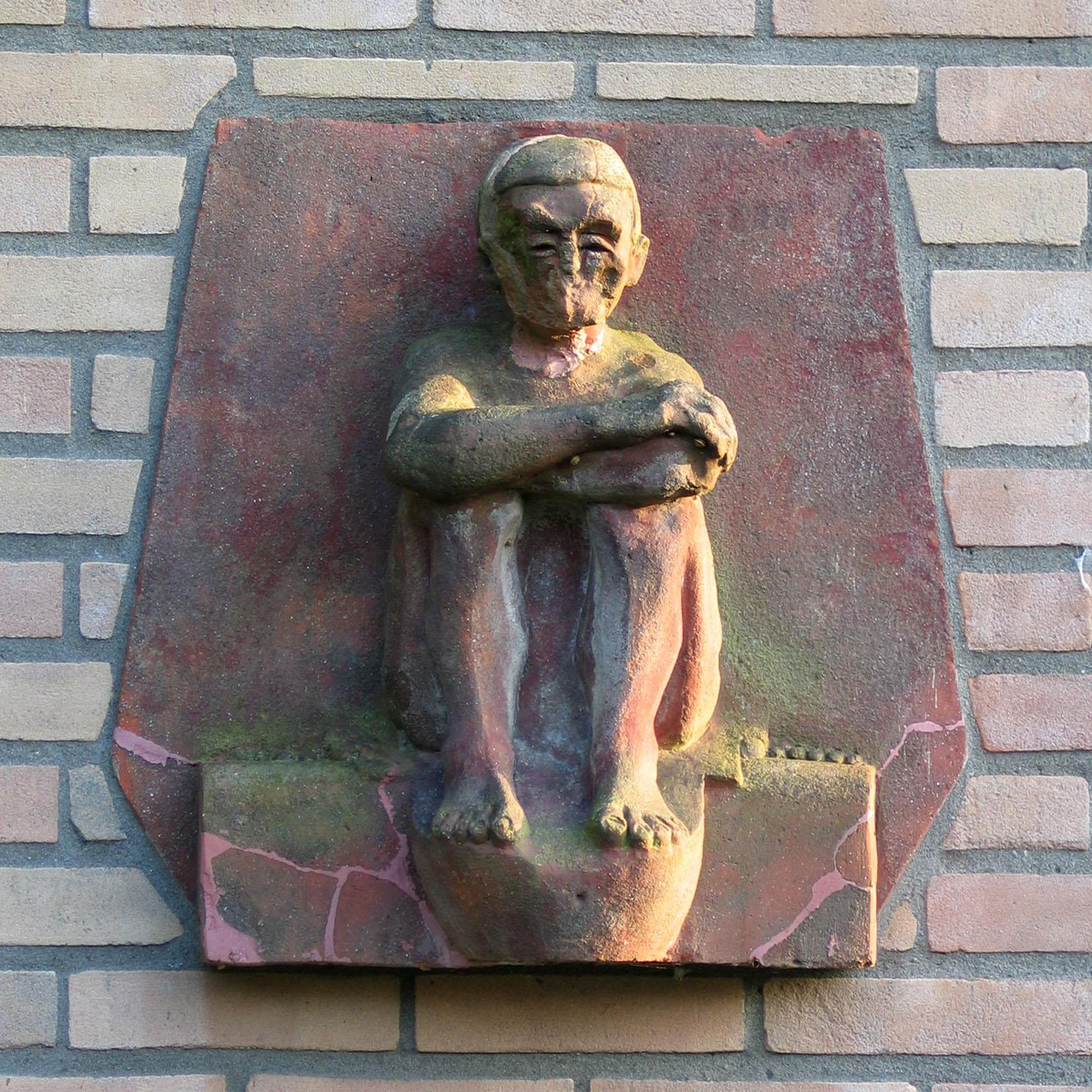 Beeldfragment Amsterdmase school 2709-vierkant