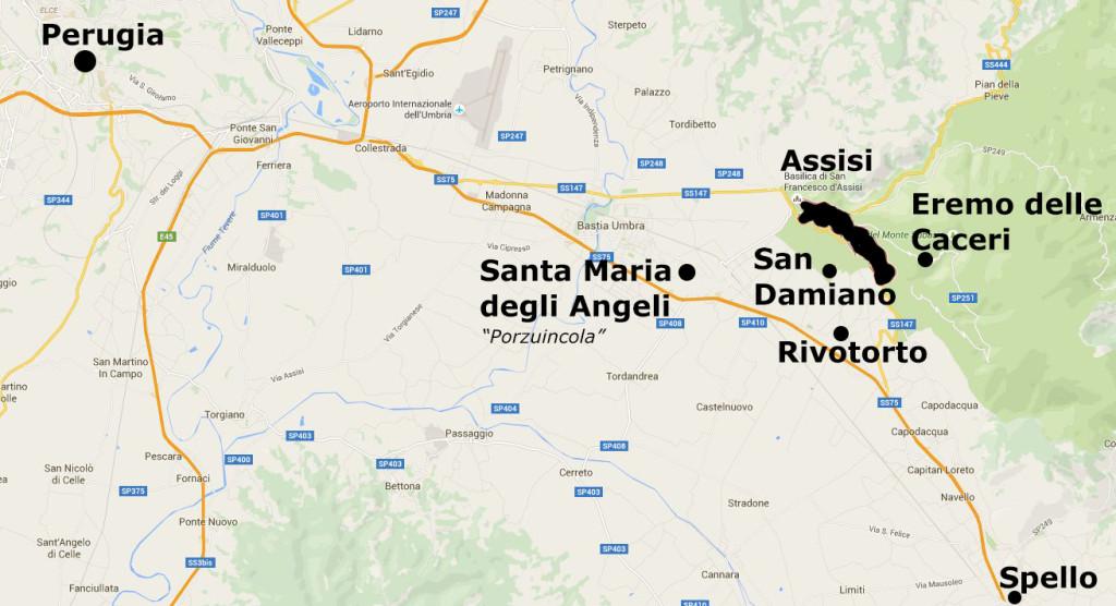 Land van Frabcicus - Assisi eo-1311pix