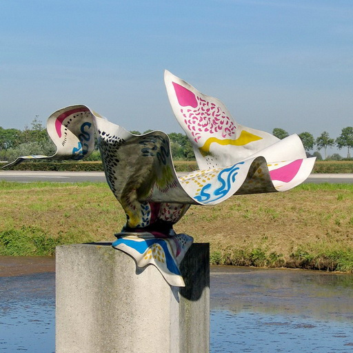 Kunstgalerij van buitenkunst in de Ronde Venen
